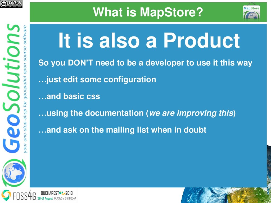 What is MapStore? It is also a Product So you D...