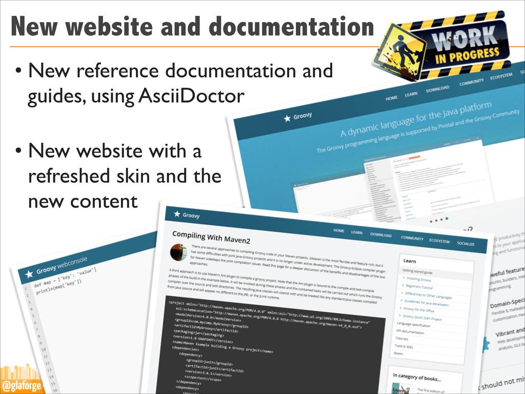 @glaforge — Groovy Grails eXchange 2013 New web...