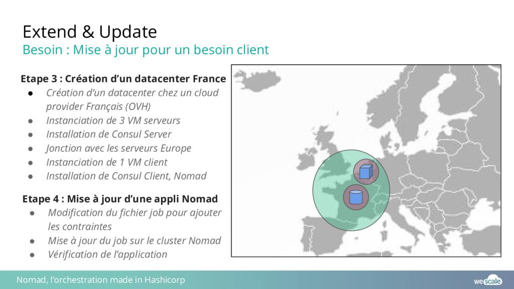 Etape 3 : Création d'un datacenter France ● Cré...