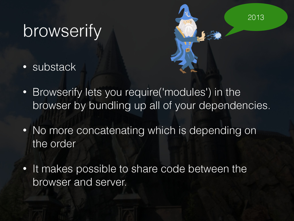 browserify • substack • Browserify lets you req...