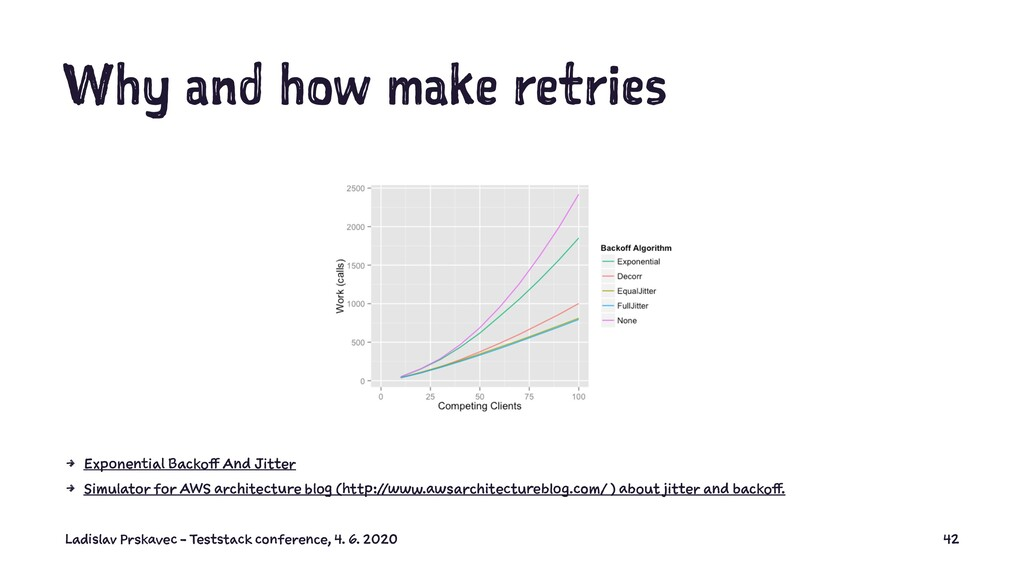 Why and how make retries 4 Exponential Backoff ...