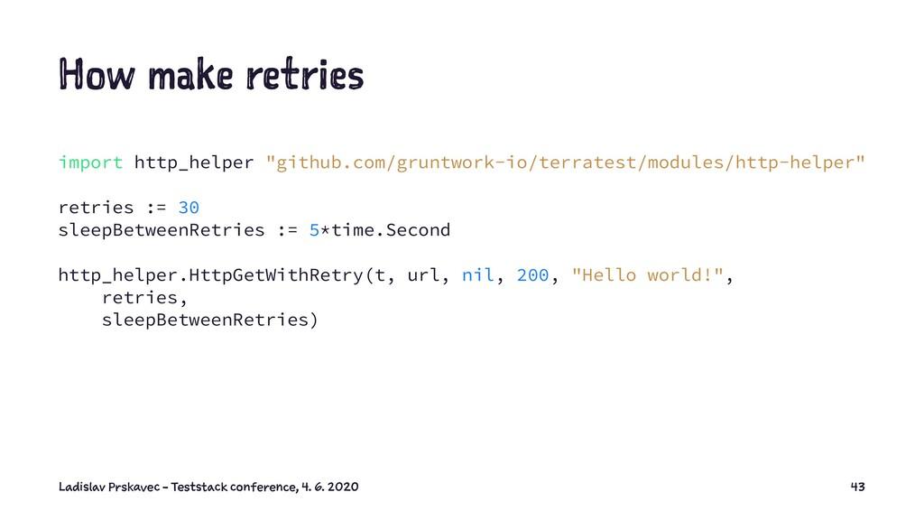 "How make retries import http_helper ""github.com..."