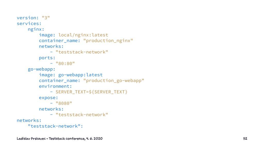 "version: ""3"" services: nginx: image: local/ngin..."