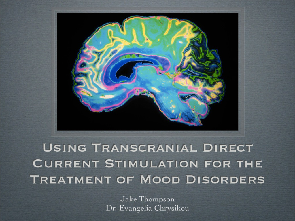 Using Transcranial Direct Current Stimulation f...