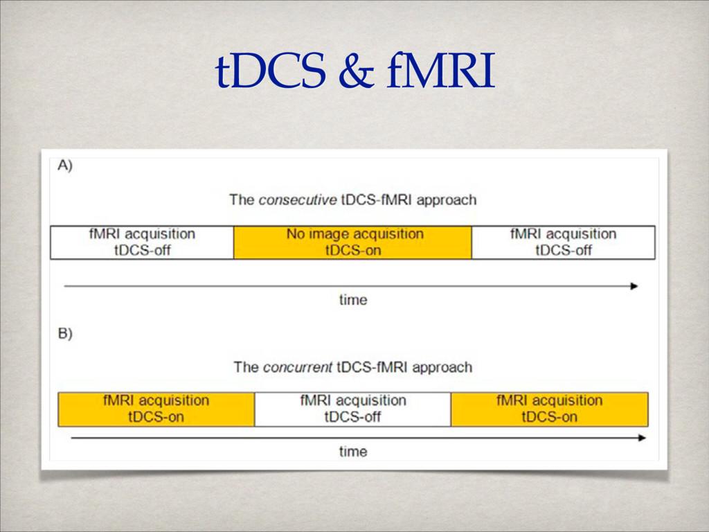 tDCS & fMRI