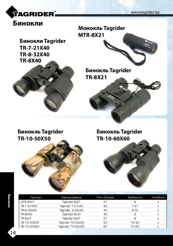 Бинокли Tagrider TR-7-21X40 TR-8X40 Бинокль Tag...