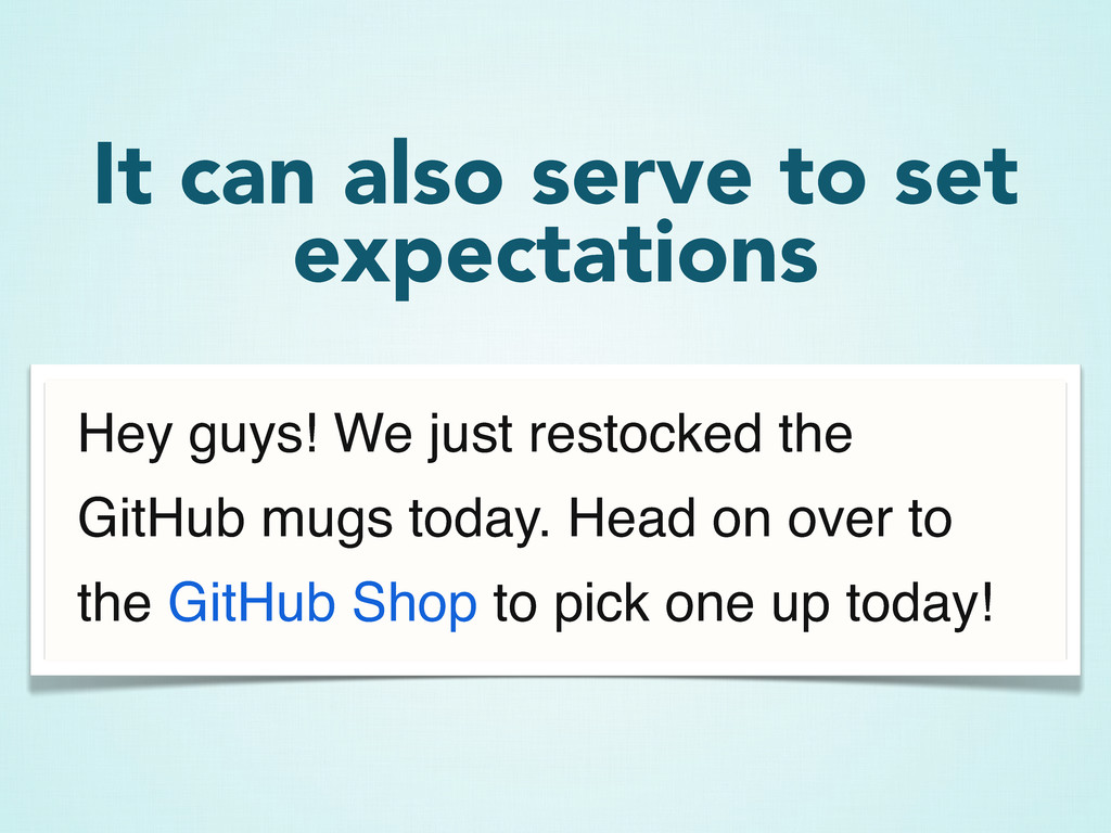 Hey guys! We just restocked the GitHub mugs tod...