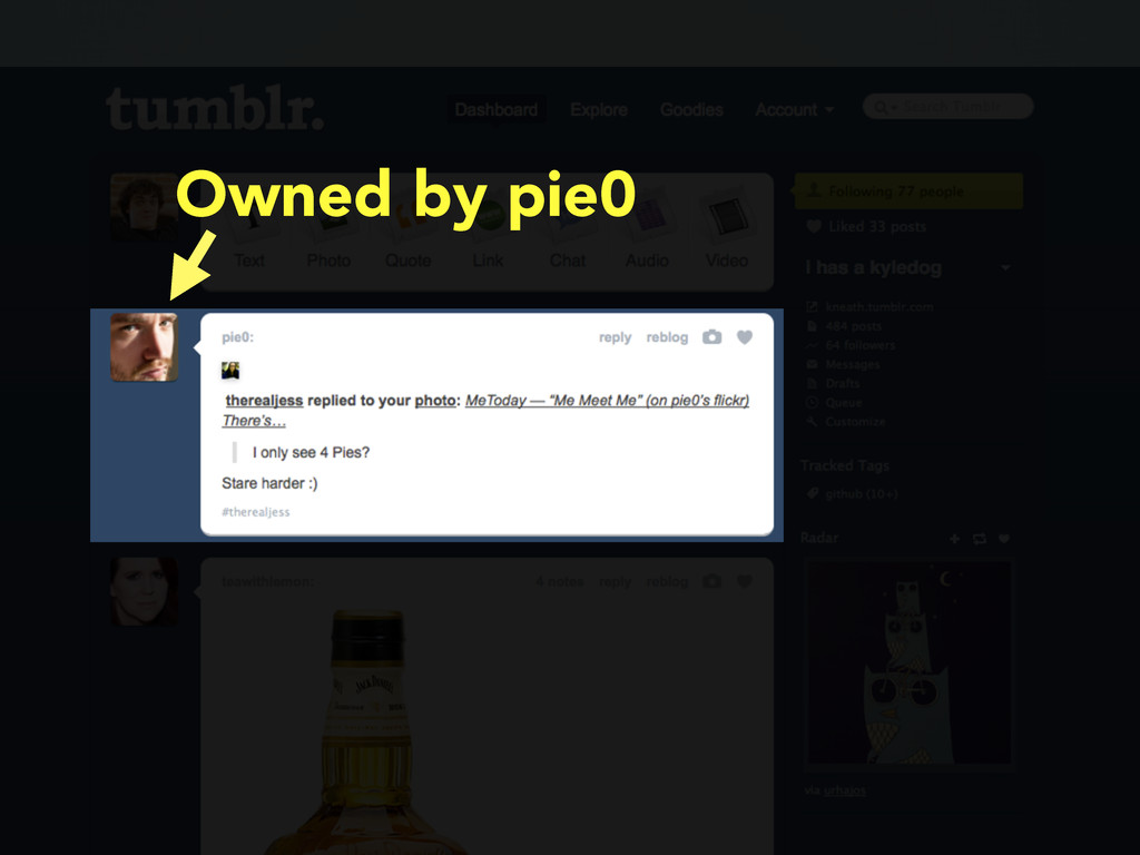 Owned by pie0