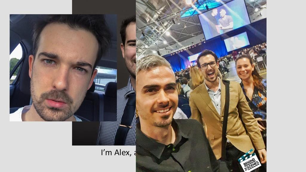 I'm Alex, a.k.a Gouldy Before Sales..