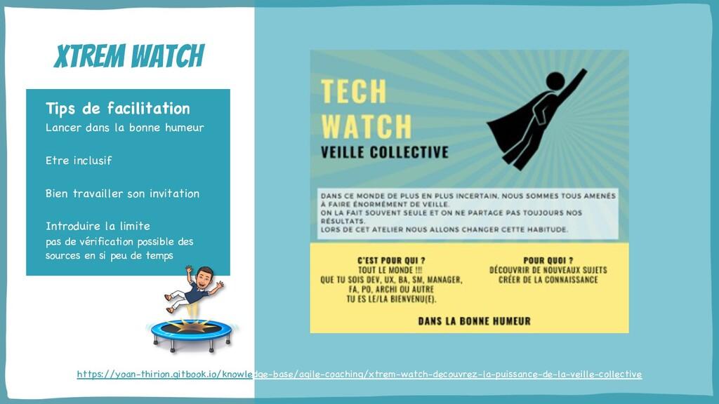 @yot88 Xtrem watch Tips de facilitation Lancer ...