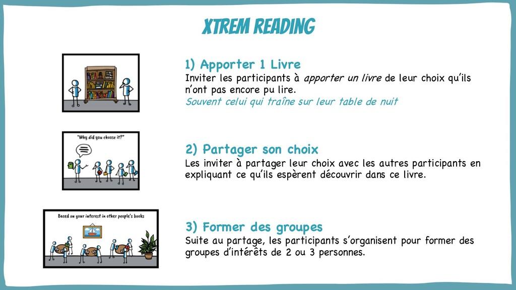 @yot88 Xtrem reading 1) Apporter 1 Livre Invite...