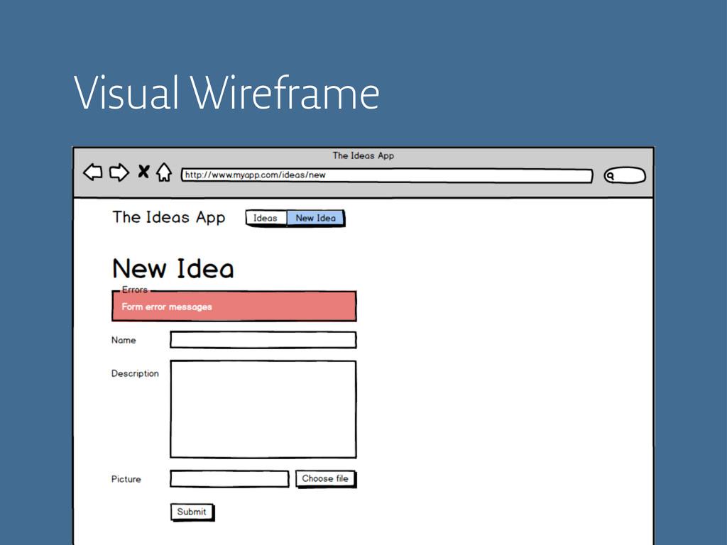 Visual Wireframe