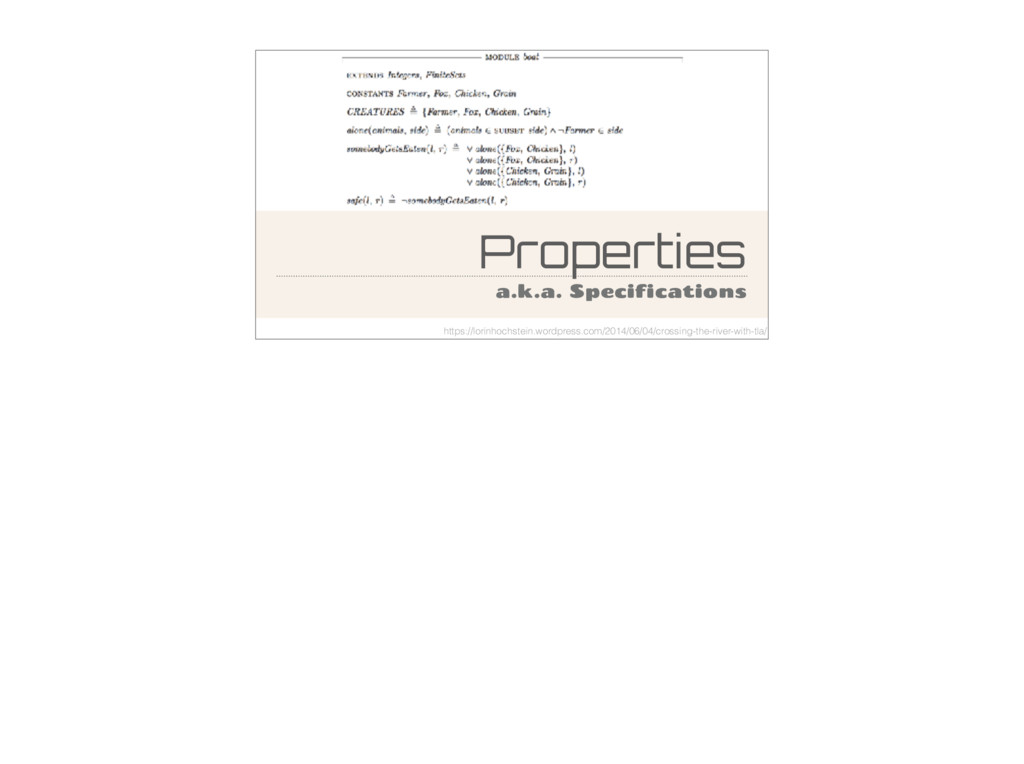 Properties a.k.a. Specifications https://lorinh...