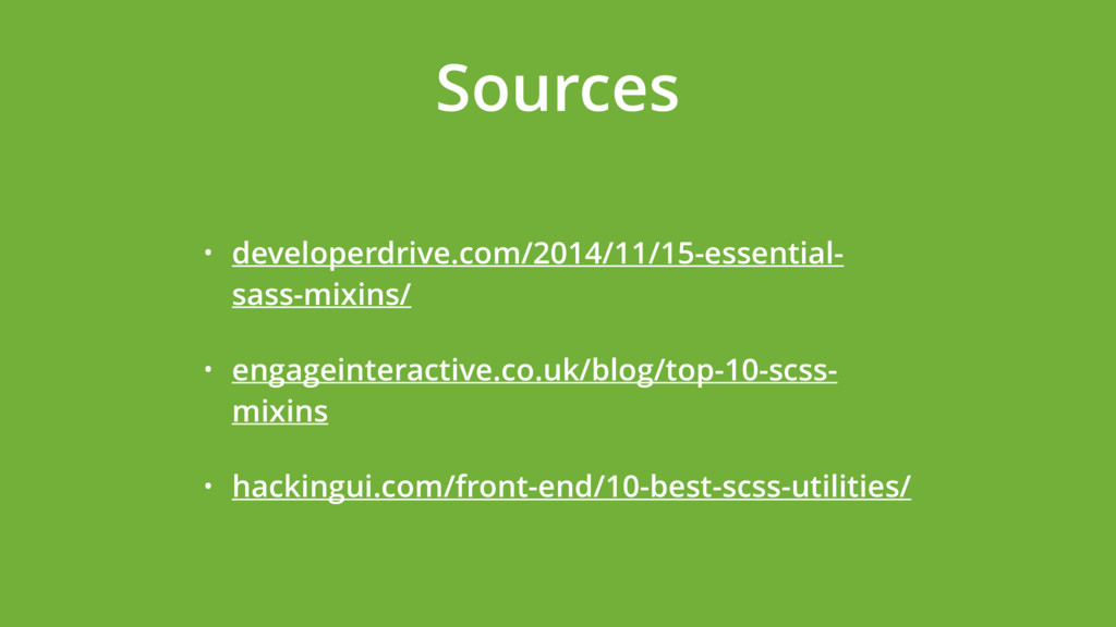 Sources • developerdrive.com/2014/11/15-essenti...