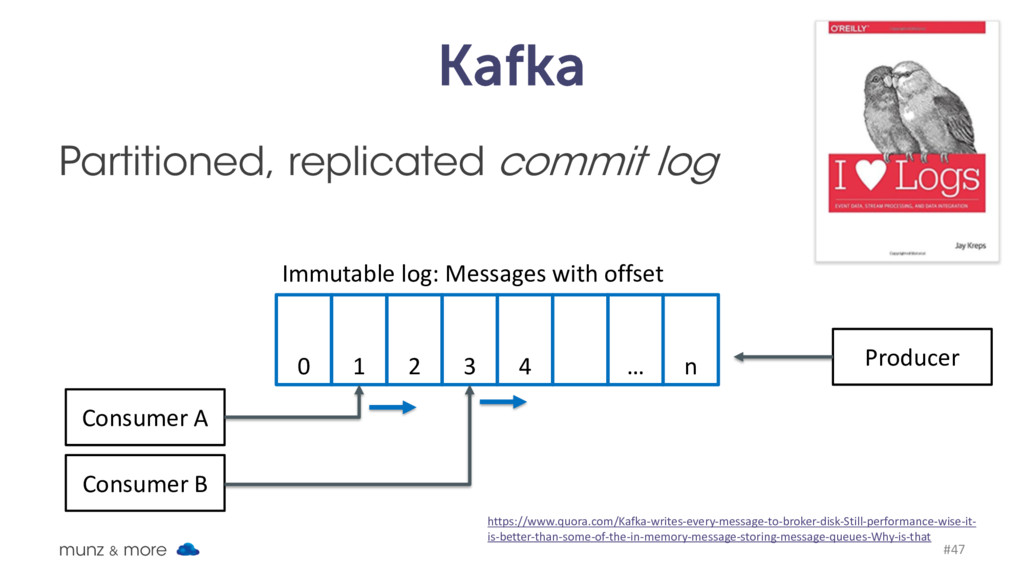 Kafka Partitioned, replicated commit log munz &...