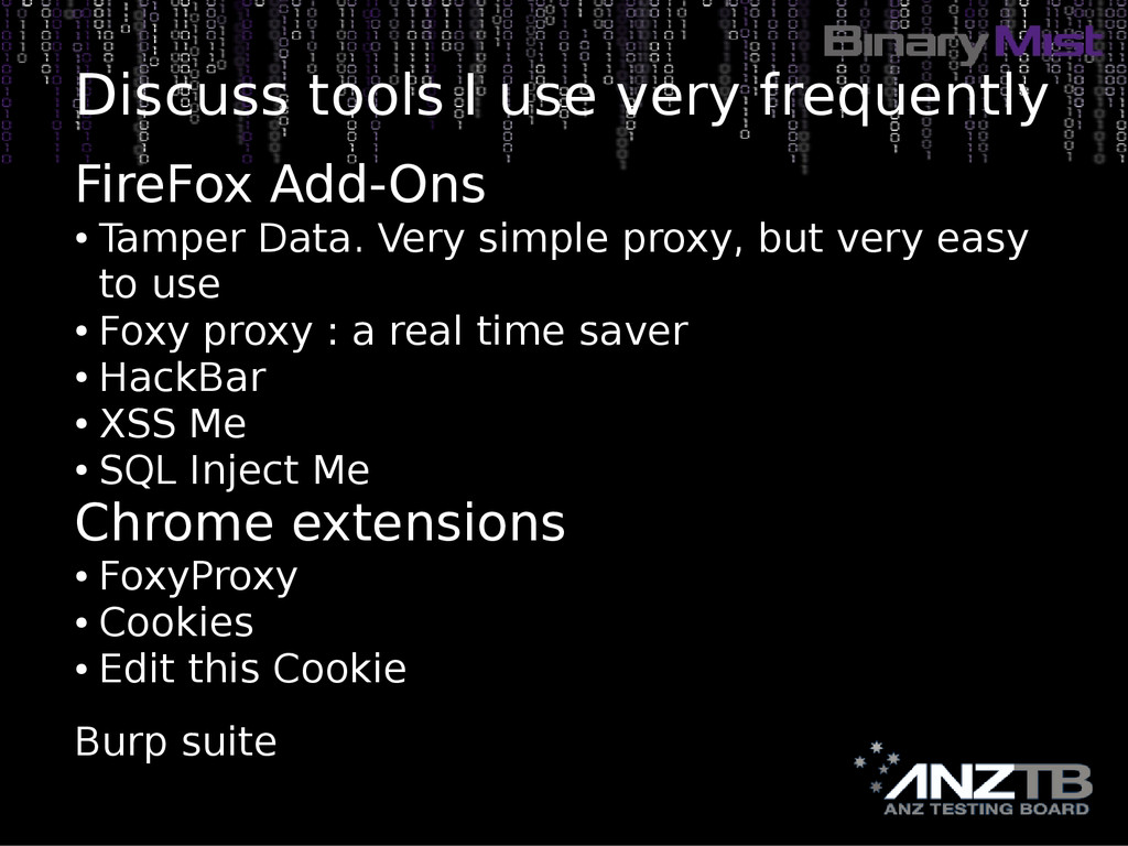 Discuss tools I use very frequently FireFox Add...