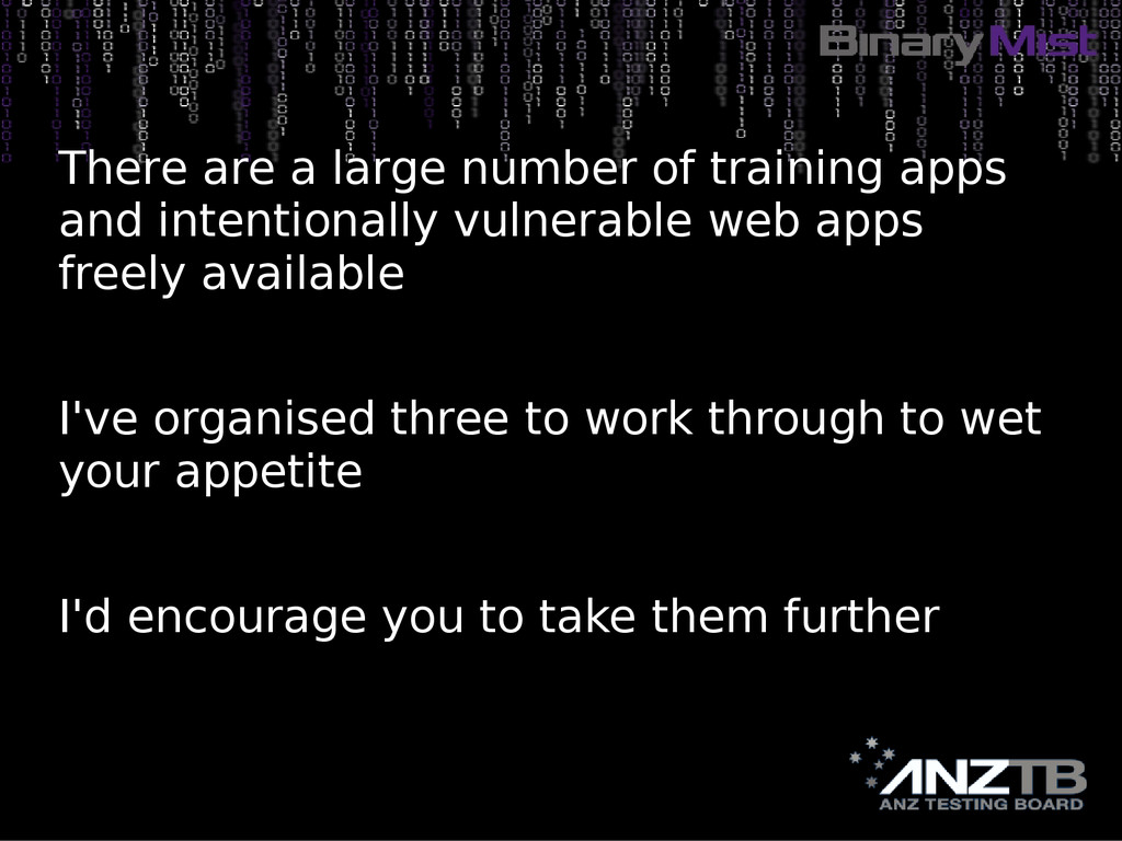 There are a large number of training apps and i...