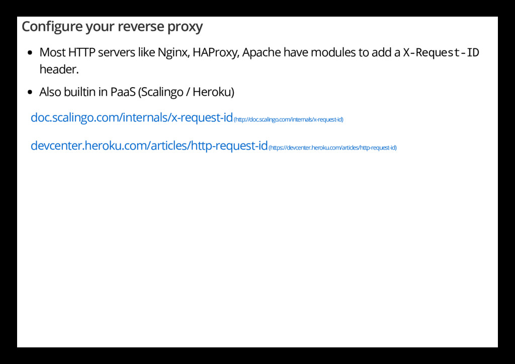 Con gure your reverse proxy Most HTTP servers l...