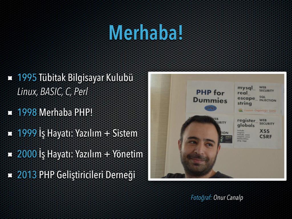 Merhaba! 1995 Tübitak Bilgisayar Kulubü Linux, ...