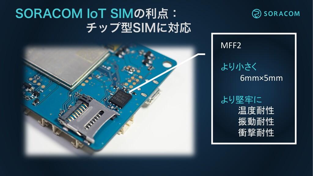 """MFF2 より小さく 6mm×5mm より堅牢に 温度耐性 振動耐性 衝撃耐性 403""""$0...."""