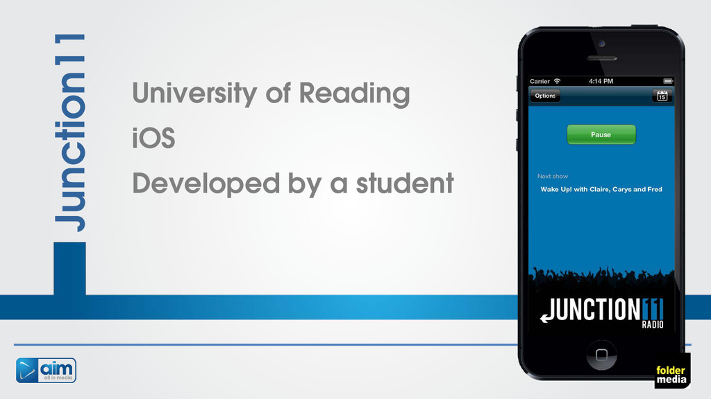 Junction11 University of Reading iOS Developed ...