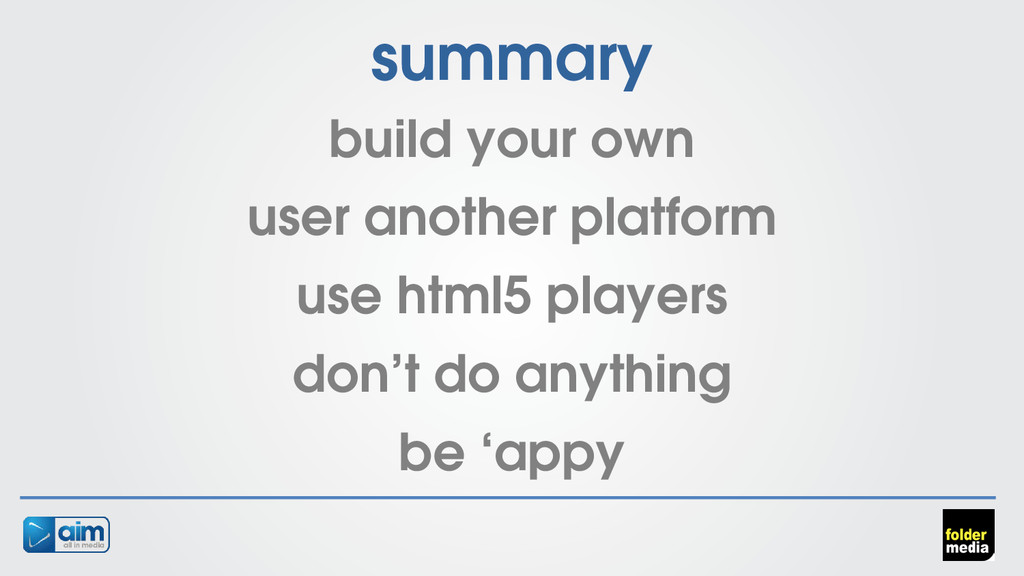 summary build your own user another platform us...