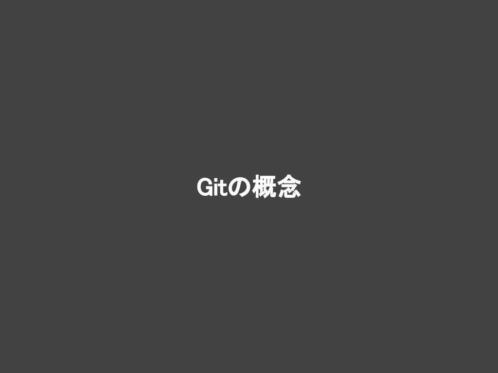 Gitの概念