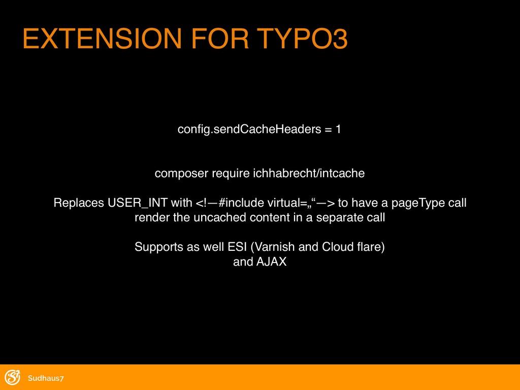 config.sendCacheHeaders = 1 composer require ich...
