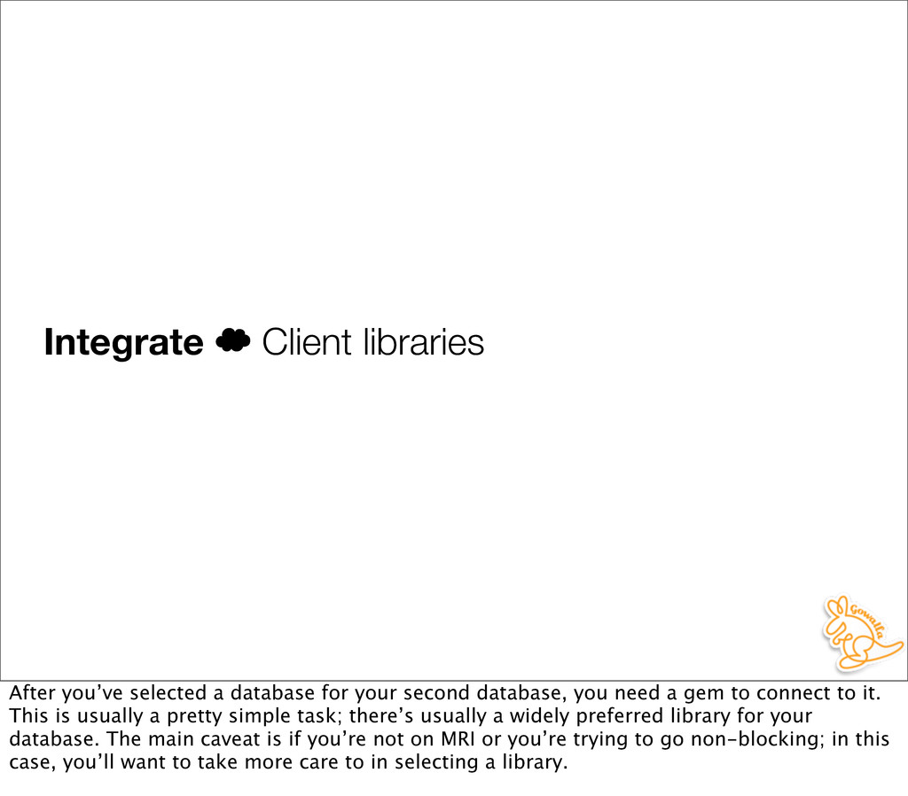 Integrate ' Client libraries After you've selec...