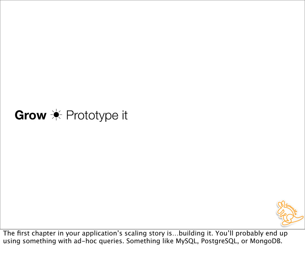 Grow ‗ Prototype it The first chapter in your ap...