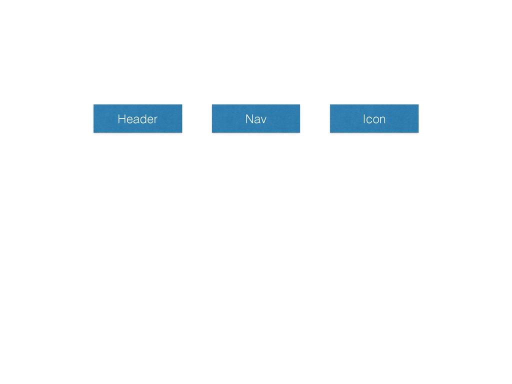 Header Nav Icon