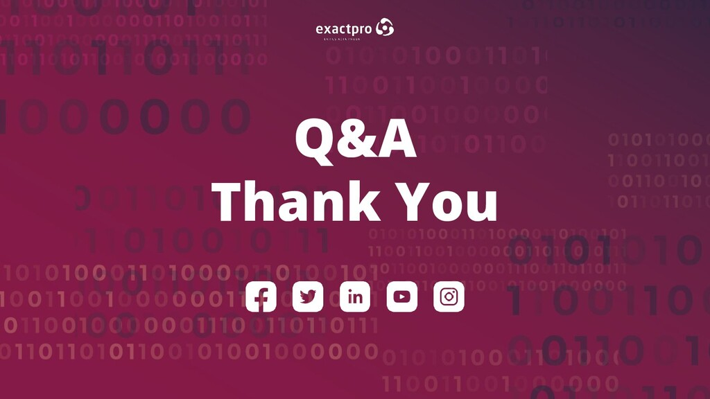 29 BUILD SOFTWARE TO TEST SOFTWARE Q&A Thank You