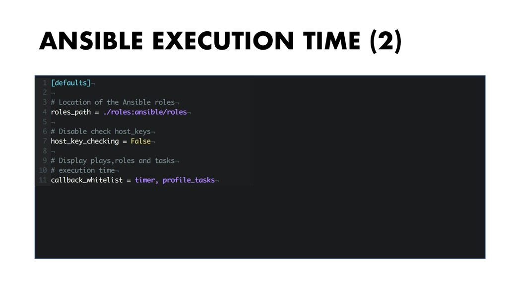 ANSIBLE EXECUTION TIME (2)