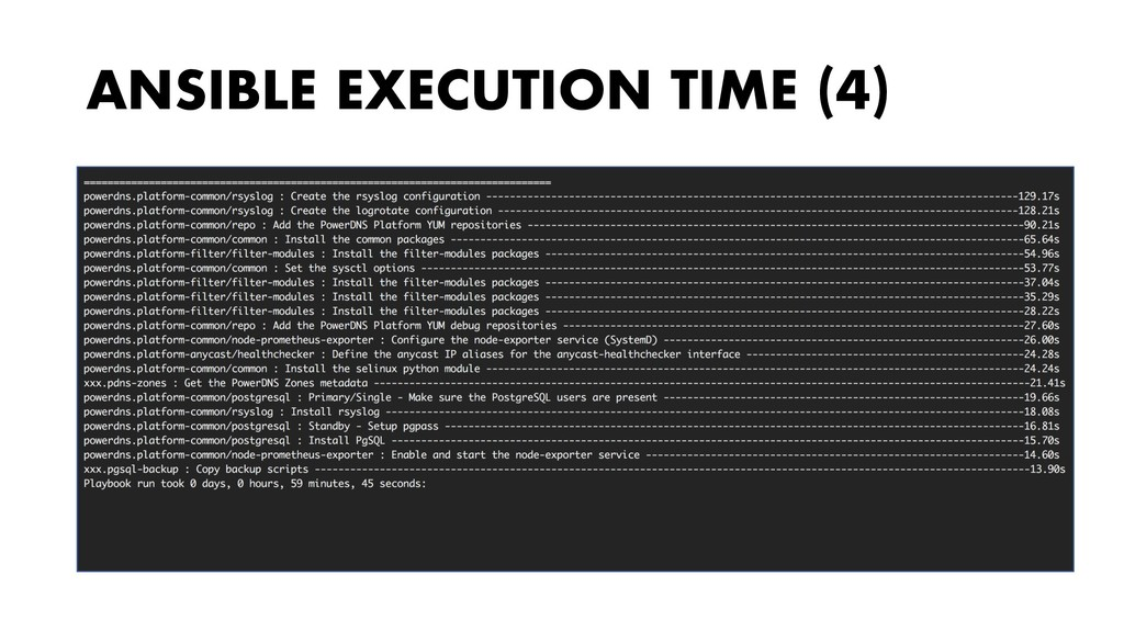 ANSIBLE EXECUTION TIME (4)