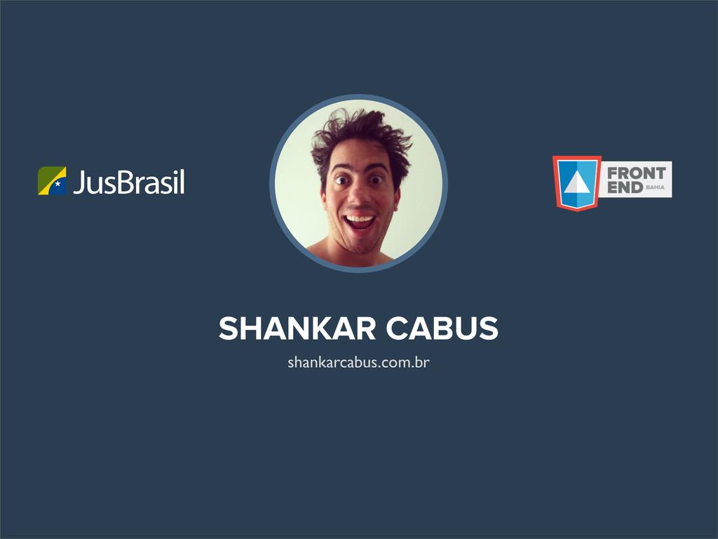 SHANKAR CABUS JusBrasil shankarcabus.com.br