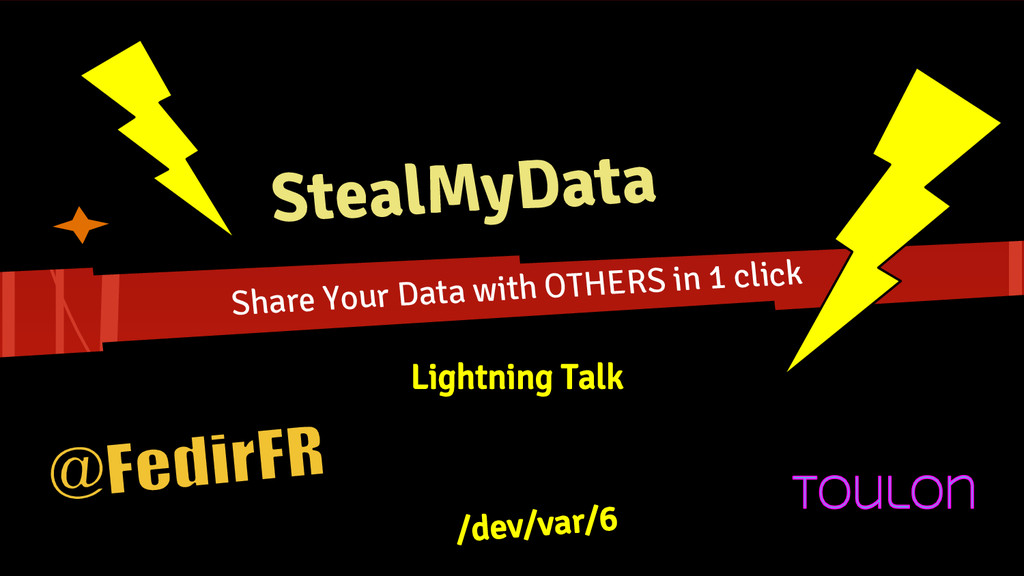 StealMyData Share Your Data with OTHERS in 1 cl...