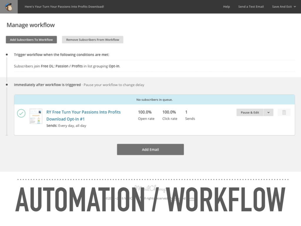 AUTOMATION / WORKFLOW