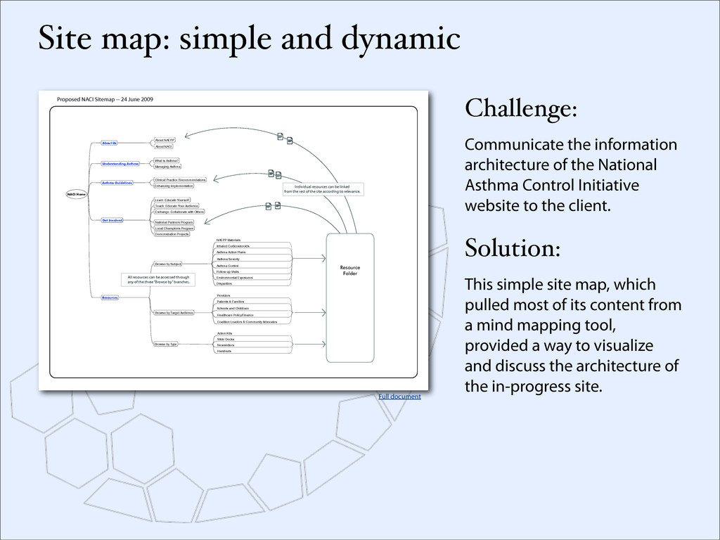Proposed NACI Sitemap -- 24 June 2009 Dispariti...