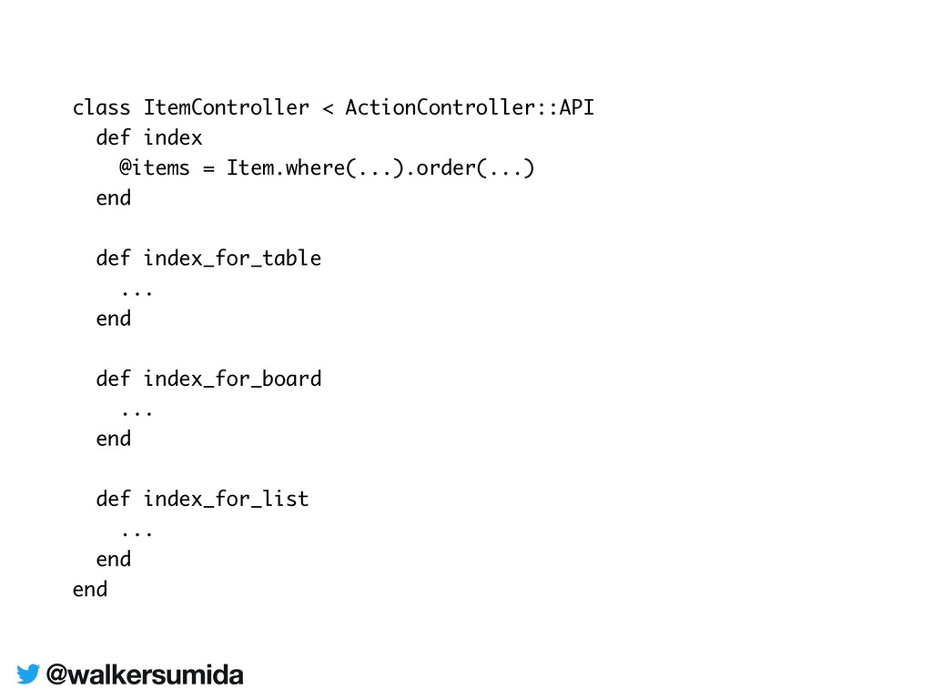class ItemController < ActionController::API de...