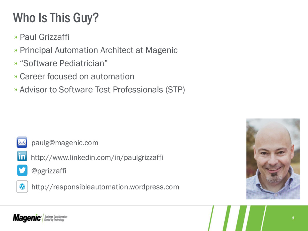 2 » Paul Grizzaffi » Principal Automation Archi...