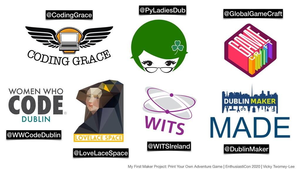 @CodingGrace @PyLadiesDub @GlobalGameCraft @WWC...