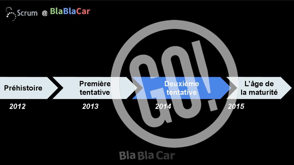 L'âge de la maturité @ BlaBlaCar Deuxième tent...