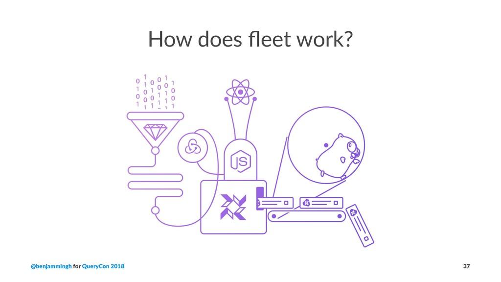 How does fleet work? @benjammingh for QueryCon 2...