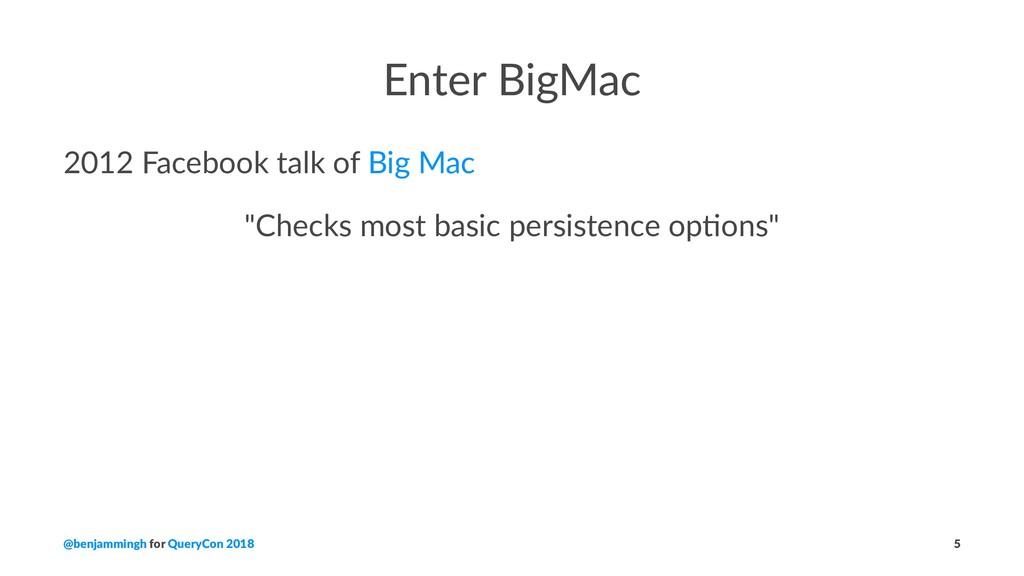 "Enter BigMac 2012 Facebook talk of Big Mac ""Che..."