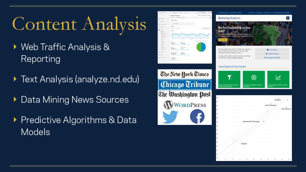 Content Analysis ▸ Web Traffic Analysis & Repor...