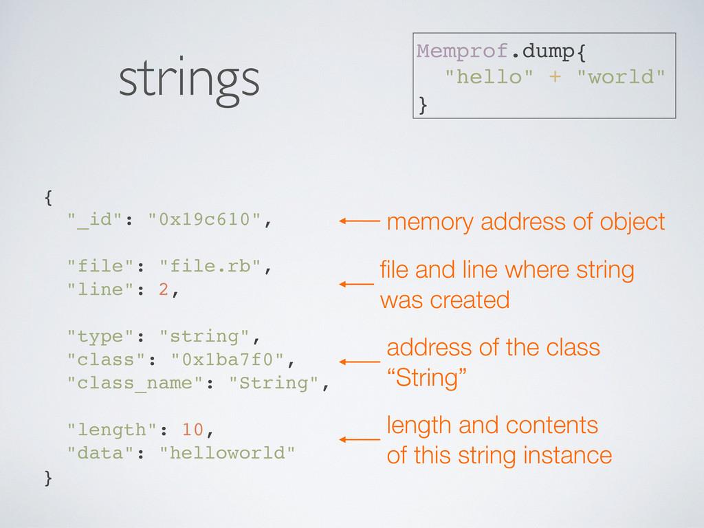 """{ """"_id"""": """"0x19c610"""", """"file"""": """"file.rb"""", """"line"""":..."""