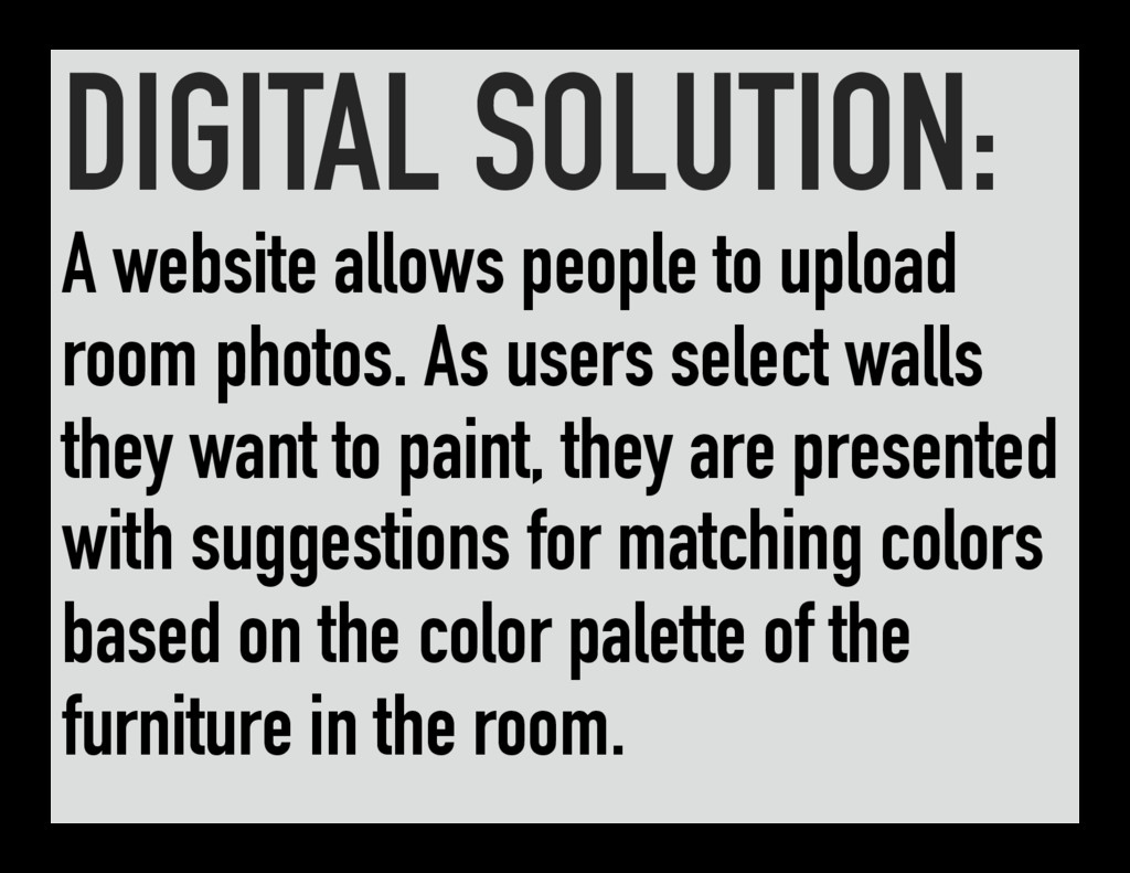 DIGITAL SOLUTION: A website allows people to up...