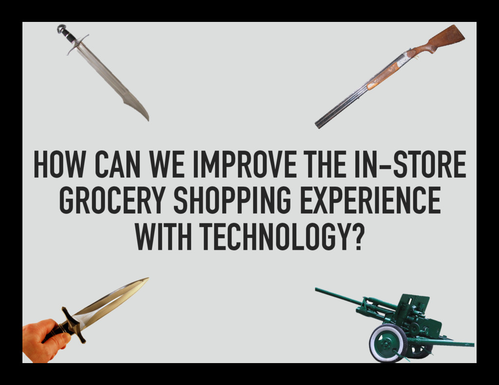 HOW CAN WE IMPROVE THE IN-STORE GROCERY SHOPPIN...