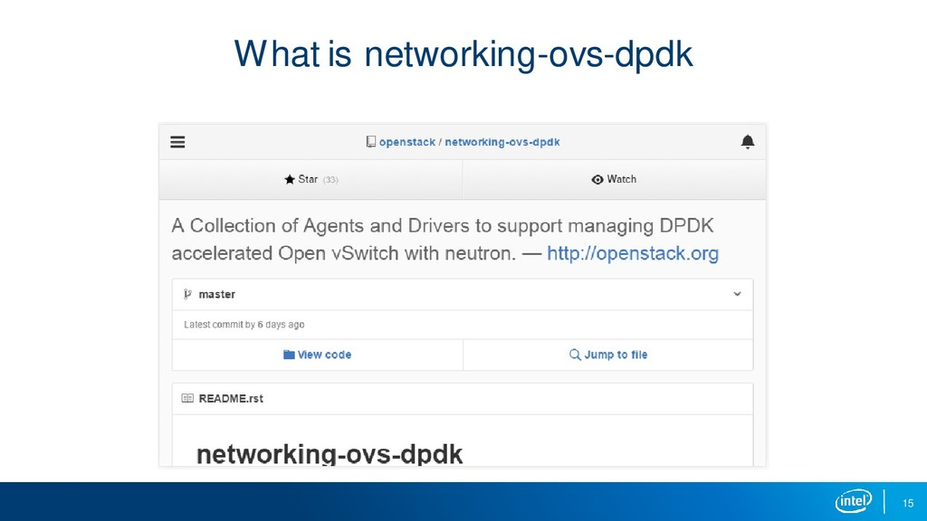 What is networking-ovs-dpdk 15