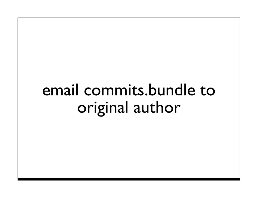 email commits.bundle to original author